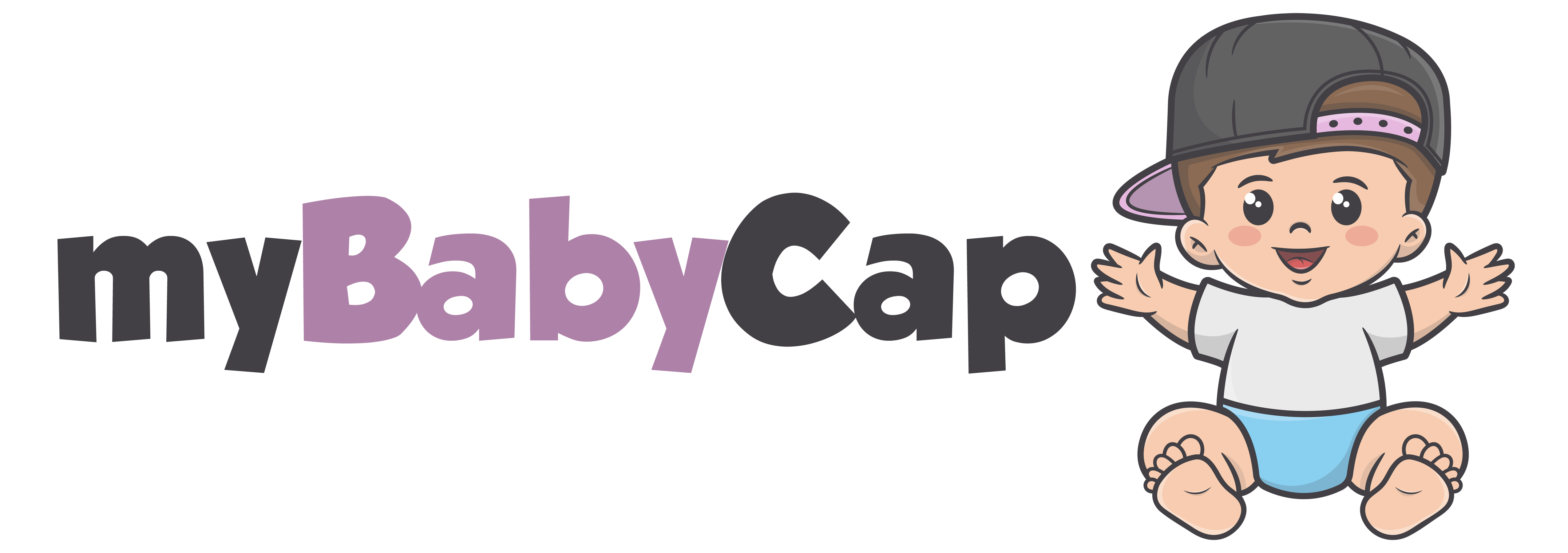 myBabyCap logo text with picture